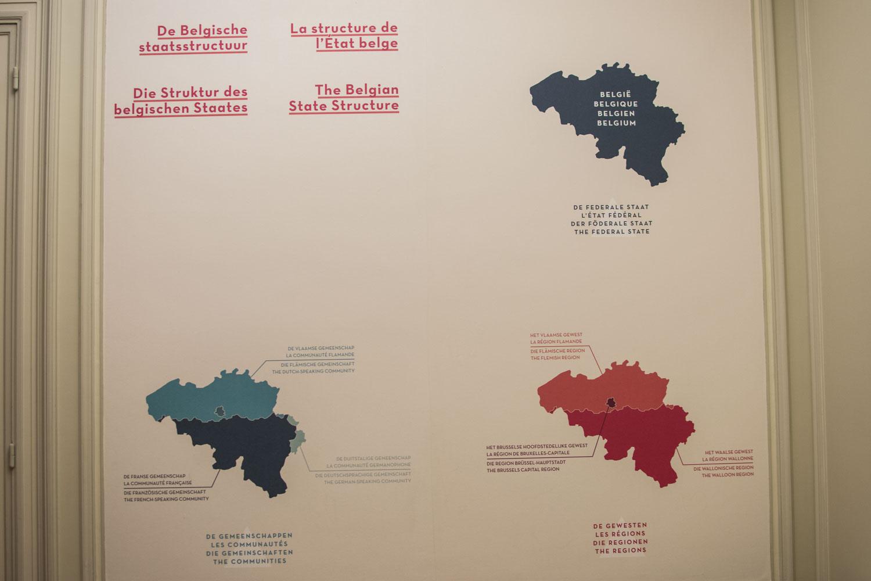 Carte Belgique Communautes Et Regions.Globe Reporters